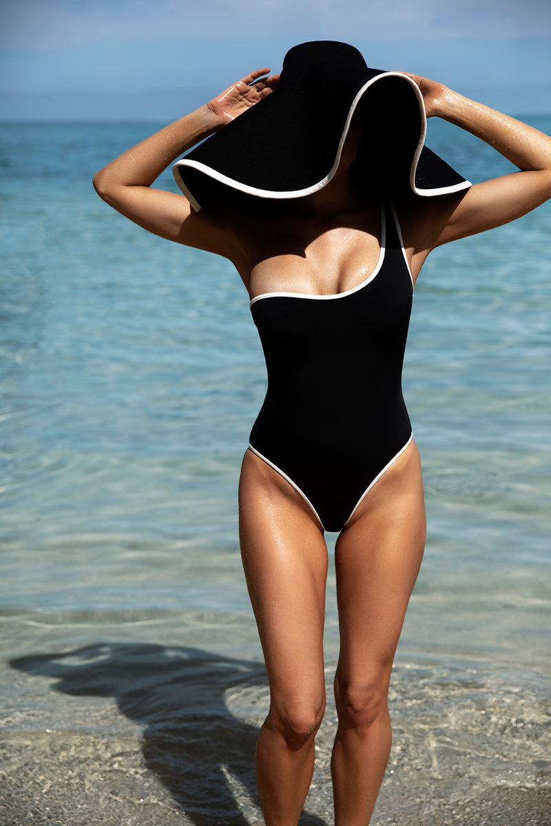CLAUDE ONE SHOULDER ONE PIECE