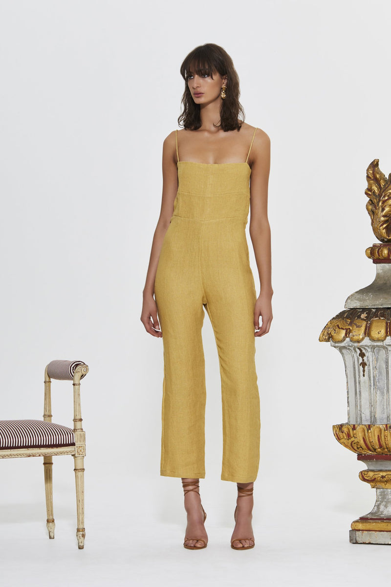 MARIELE CROPPED JUMPSUIT