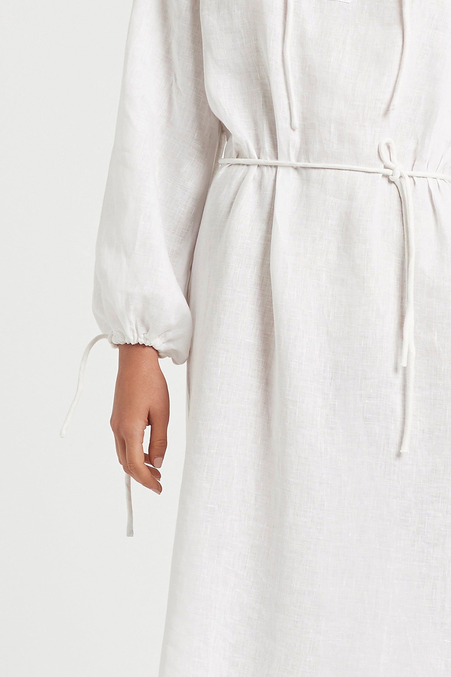 SIR the label ANOUK MAXI DRESS WHITE