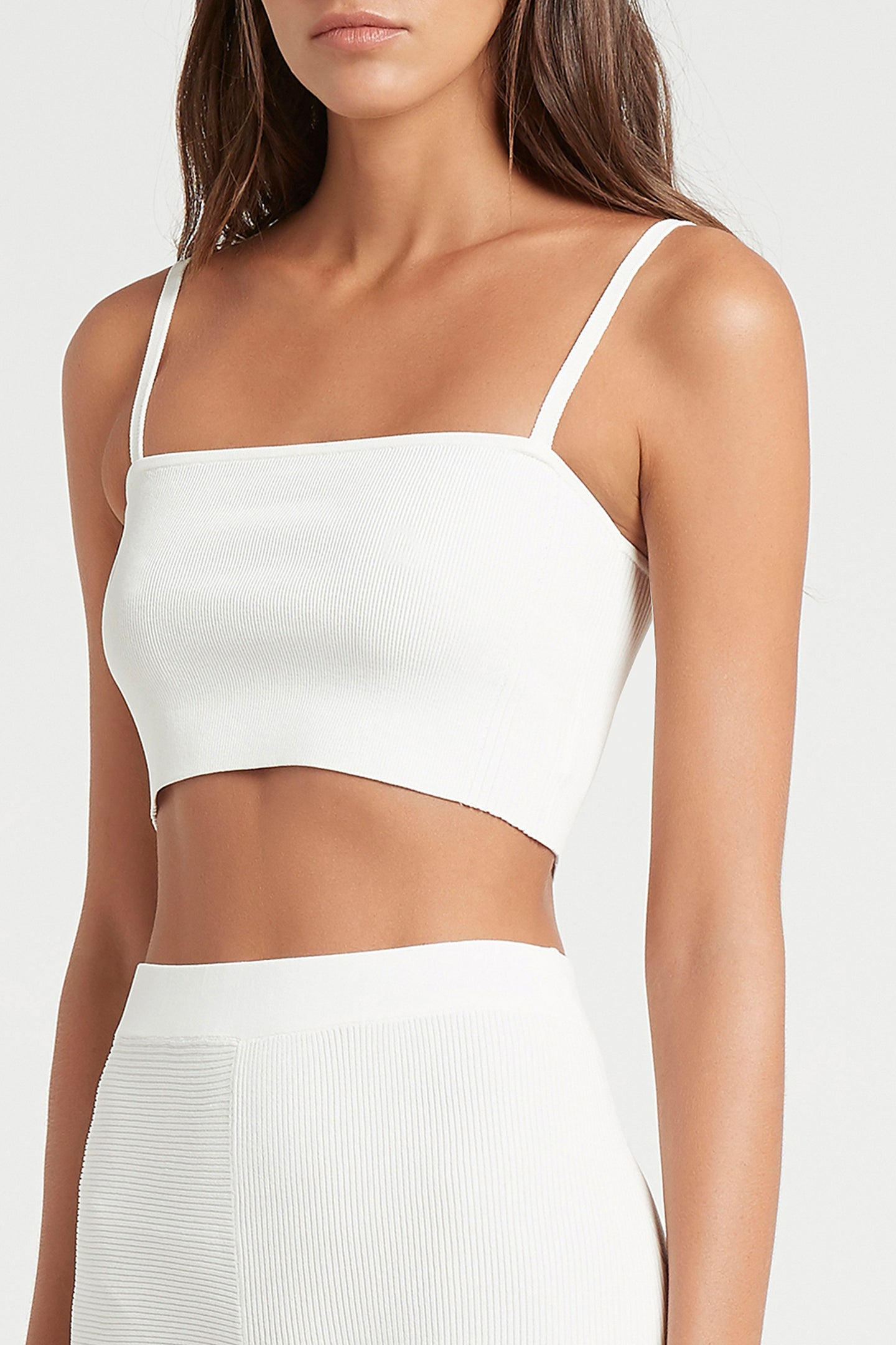 SIR the label ANNIKA CROP IVORY