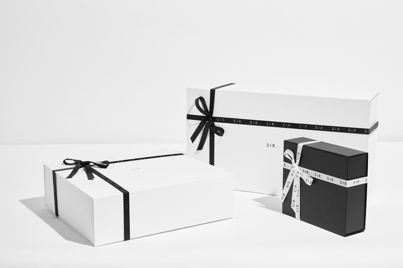 SIR the label Gift Wrapping (Optional) SIR. Signature Gift Wrapping