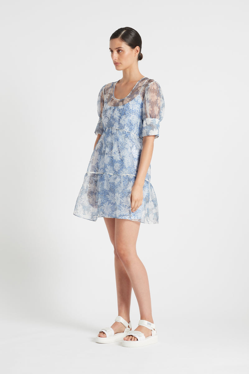 ANAIS PUFF SLEVE MINI DRESS