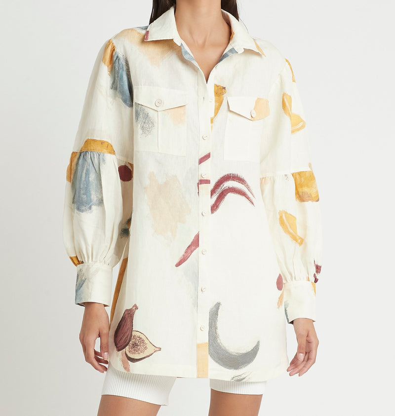 MARTINE SHIRT DRESS