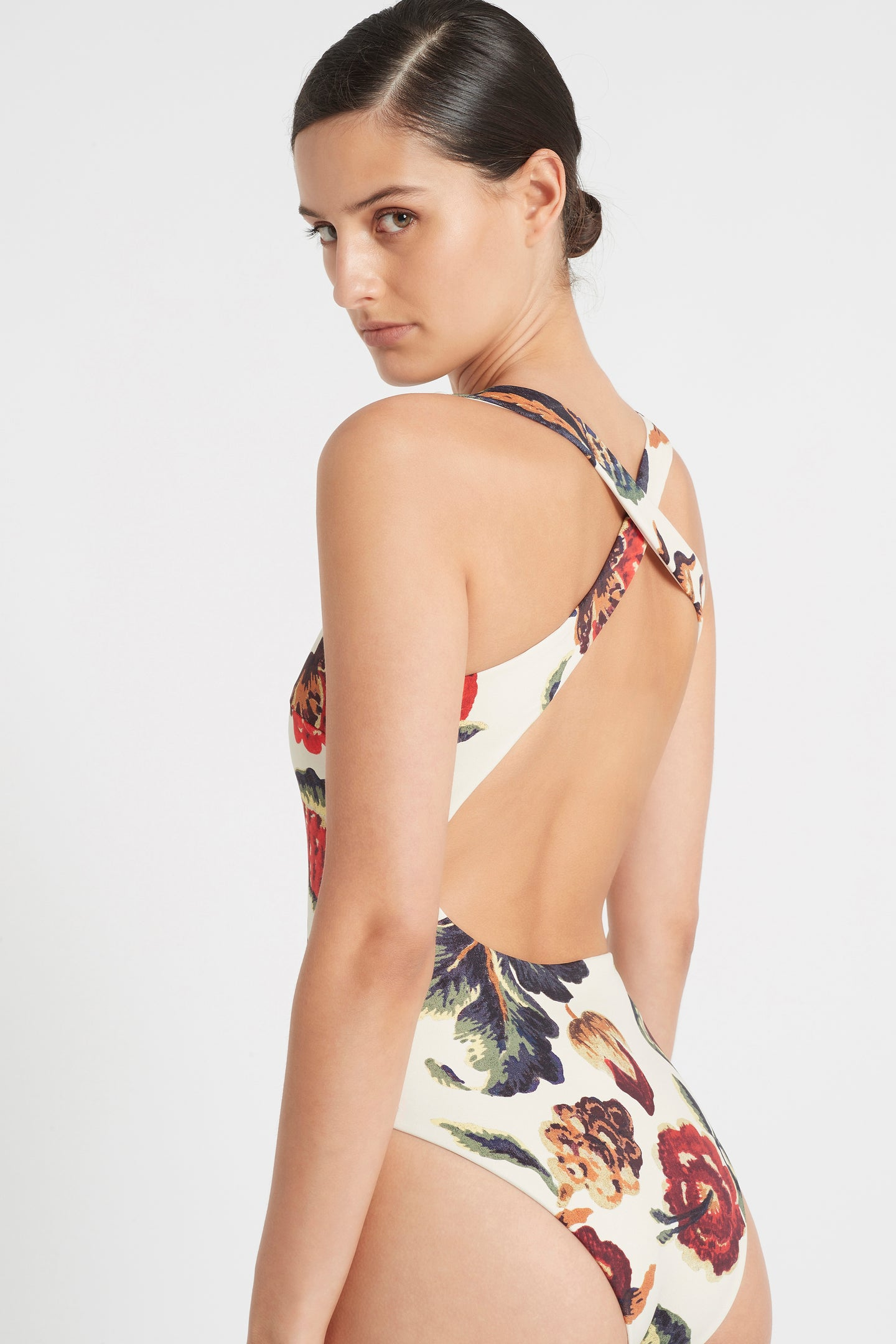 SIR the label AMBROISE RACER ONE PIECE AMBROISE PRINT