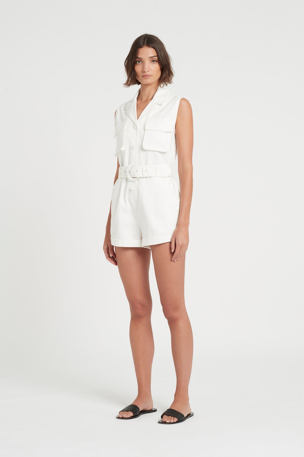 SIR the label SABINE ROMPER IVORY