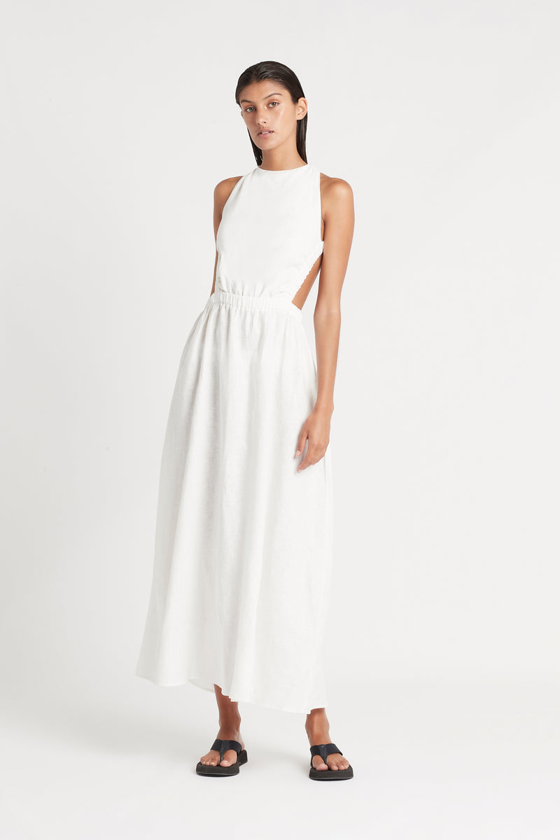 SIR the label ALENA MAXI DRESS IVORY