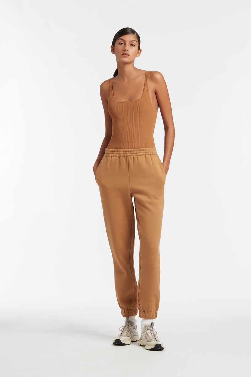 SIR the label LEONE TRACK PANT CAMEL