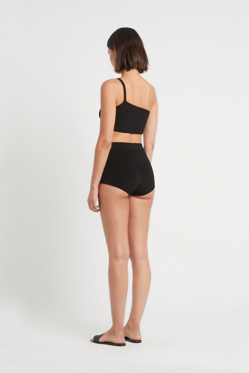 SIR the label INGRID RIBBED BRIEF BLACK
