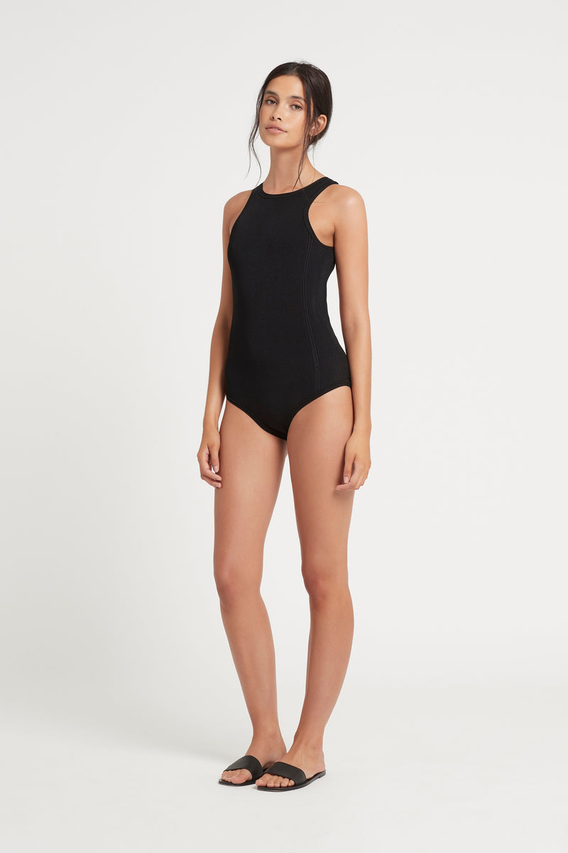 SIR the label INGRID BODYSUIT BLACK
