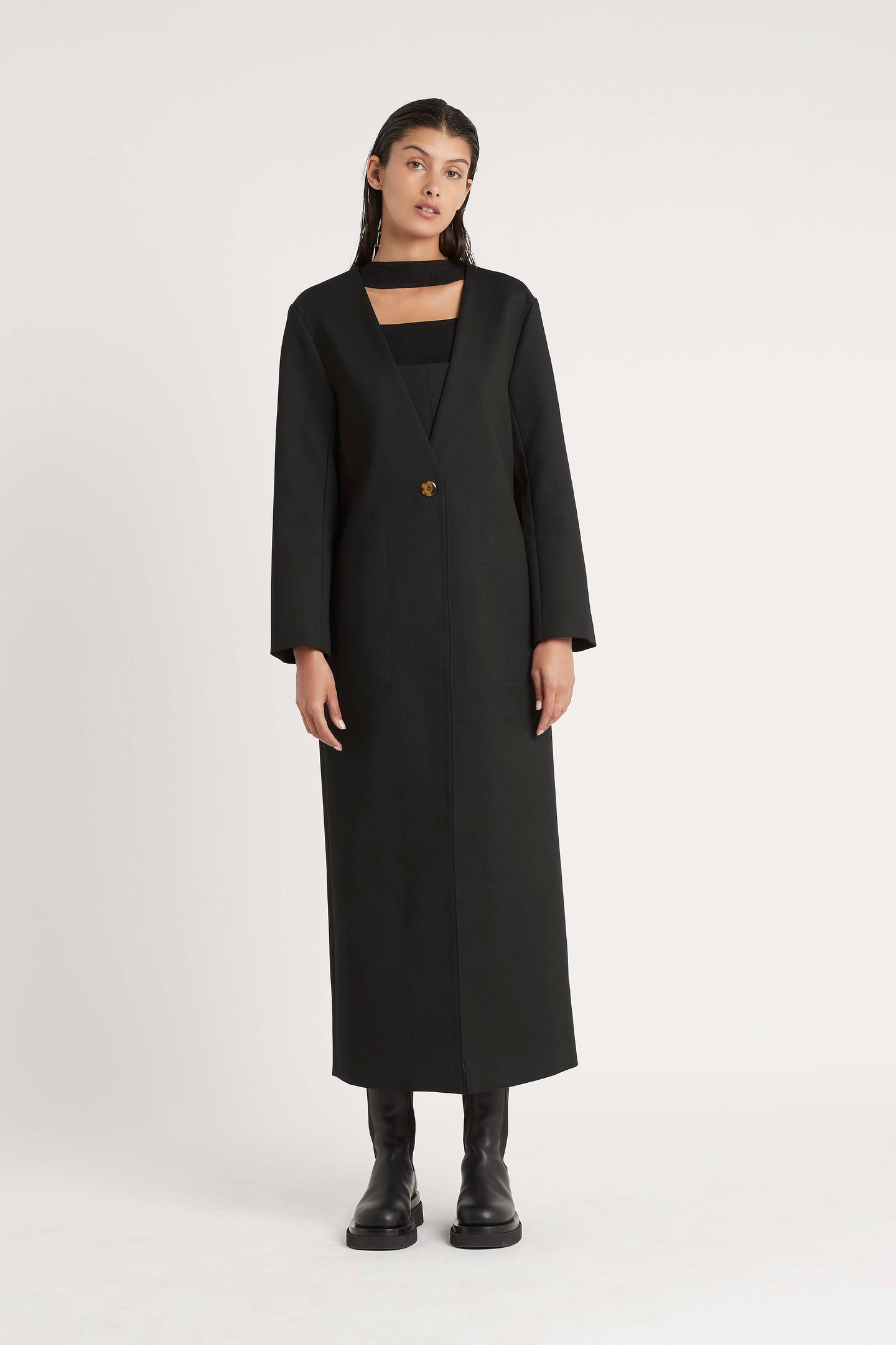 SIR the label ANDRE COAT BLACK