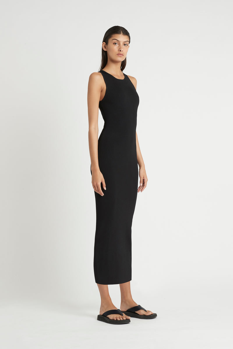 MARCELLE OPEN BACK DRESS
