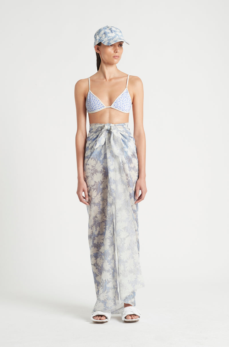 SIR the label ANAIS SARONG BLUE ANAIS PRINT