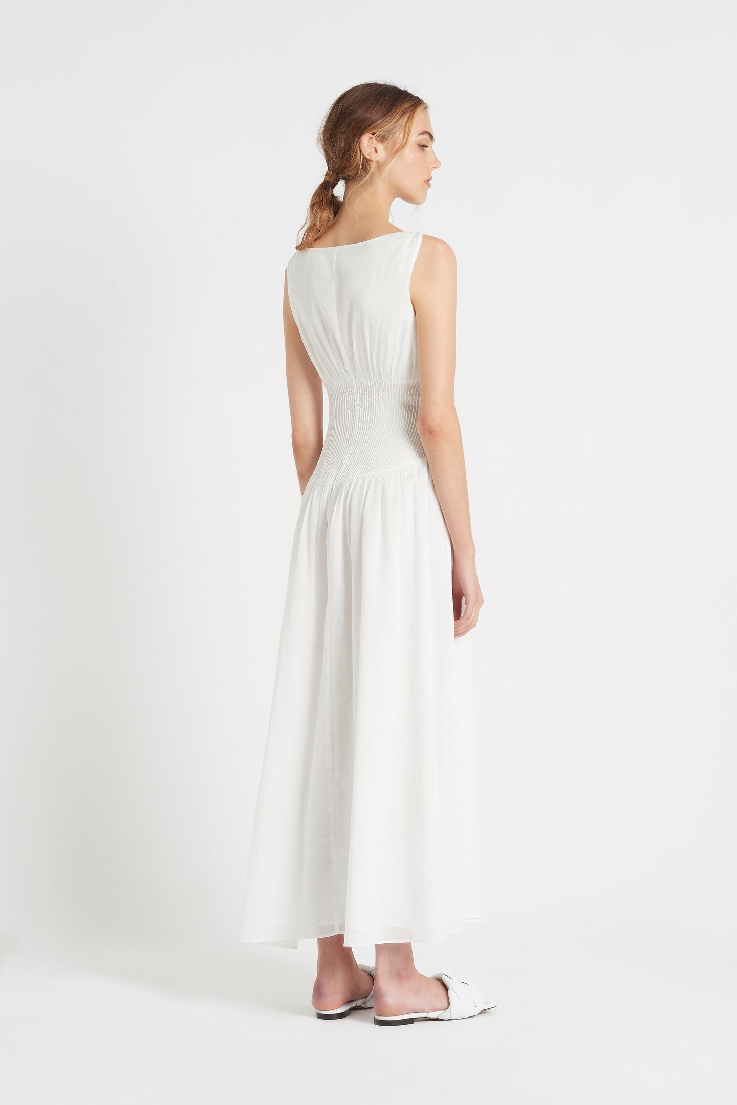 SIR the label ALINA MAXI DRESS IVORY