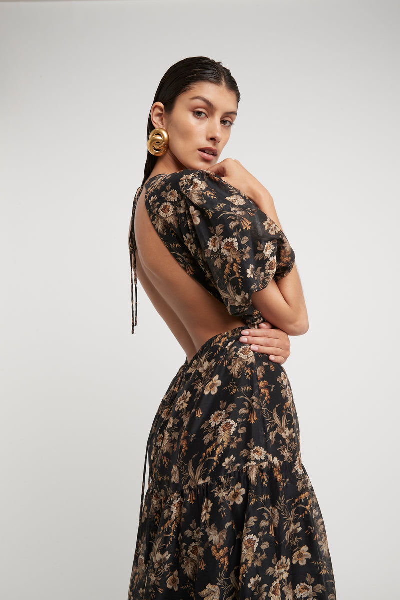 AMERIE OPEN BACK DRESS