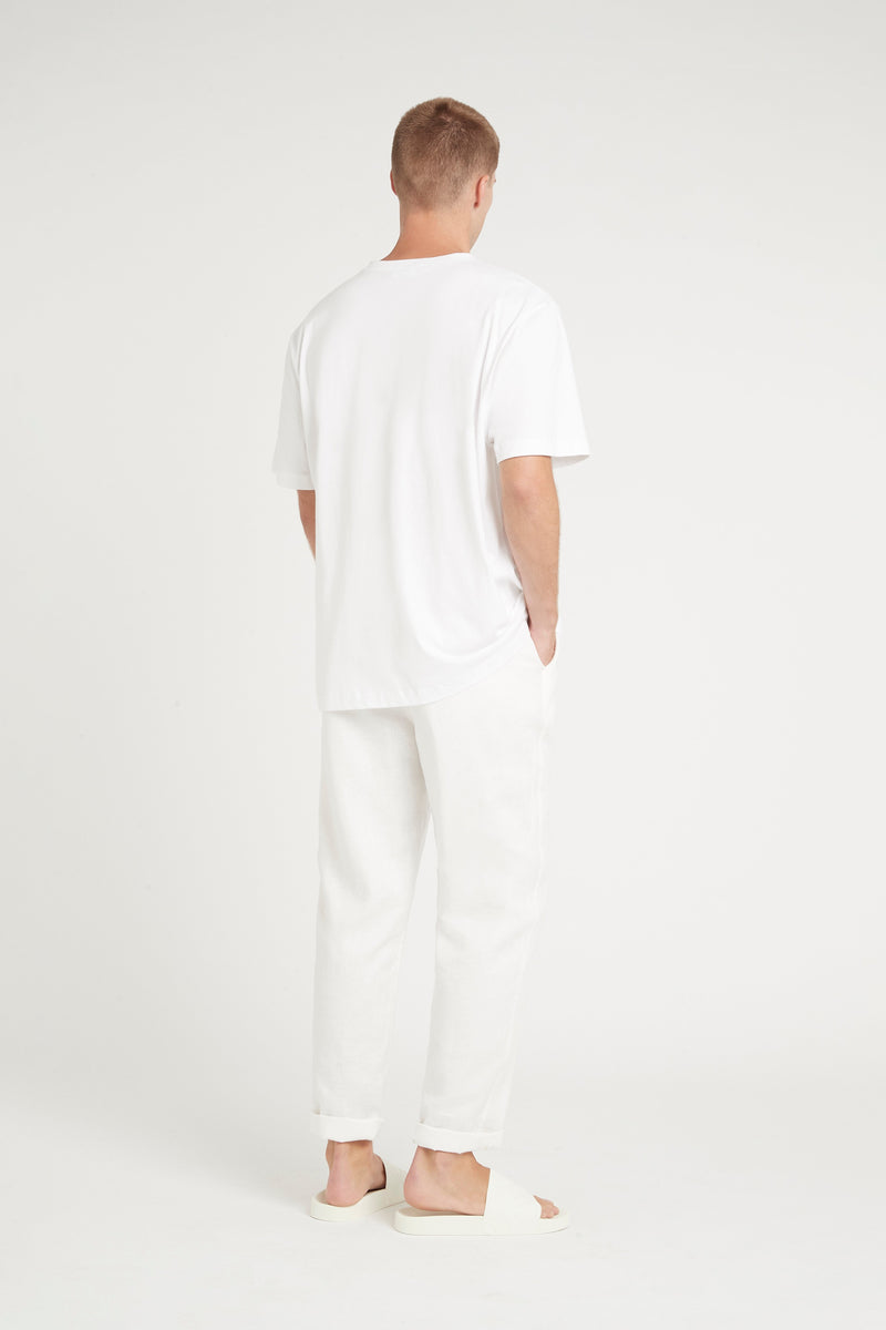 SIR the label MENS TEE IVORY