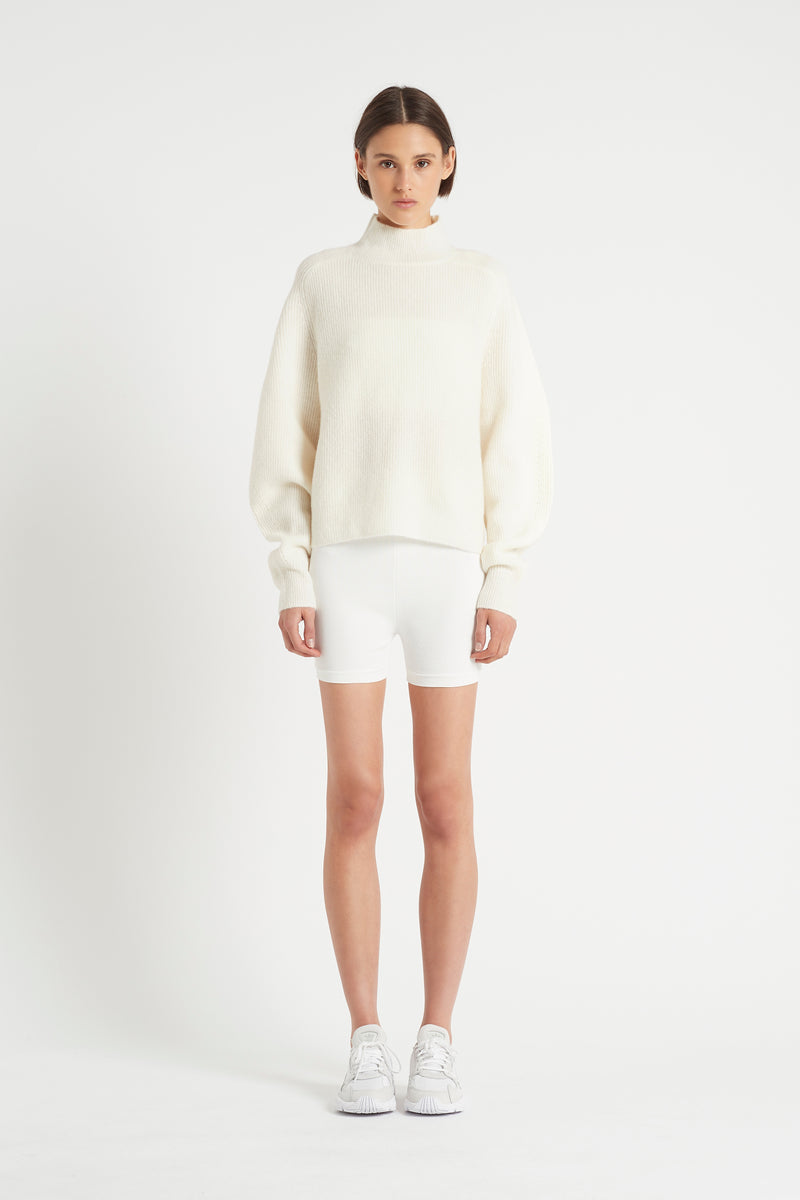 SIR the label INGRID SHORT IVORY