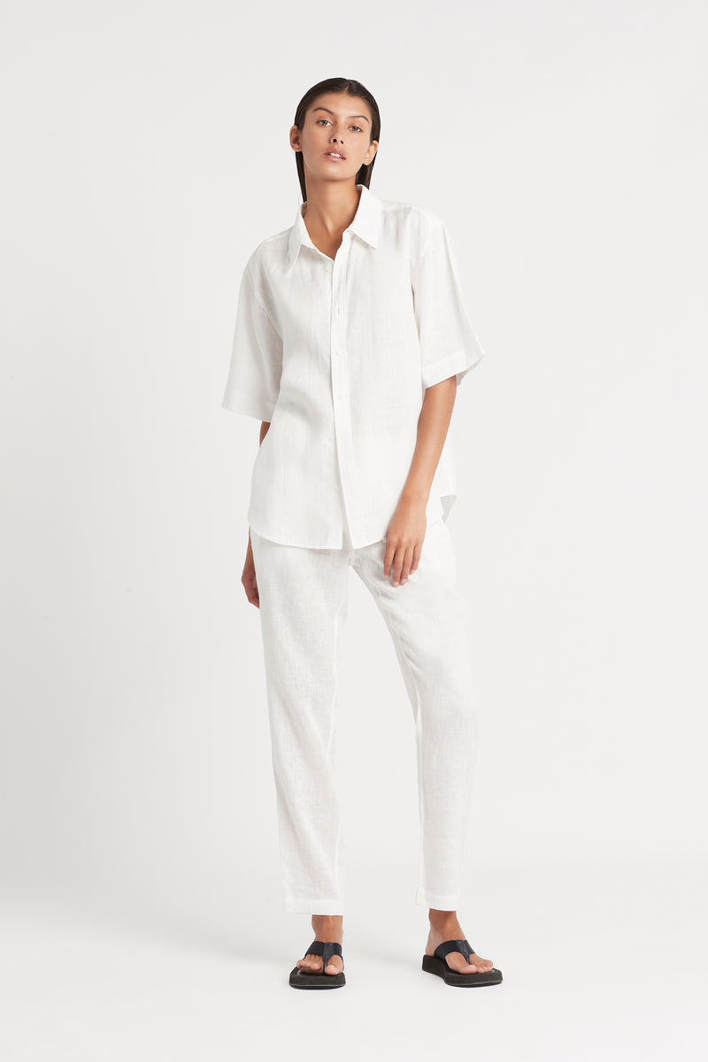SIR the label FRANCES PANT IVORY