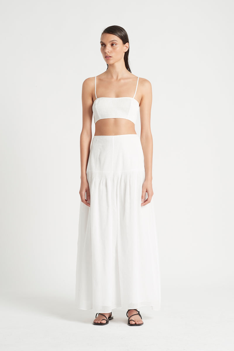SIR the label ALINA PINTUCK BANDEAU IVORY