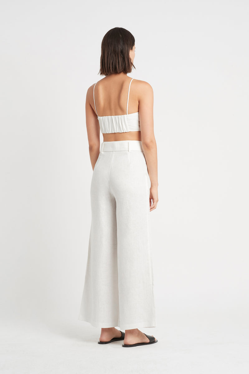 SIR the label PASCALE PANT IVORY