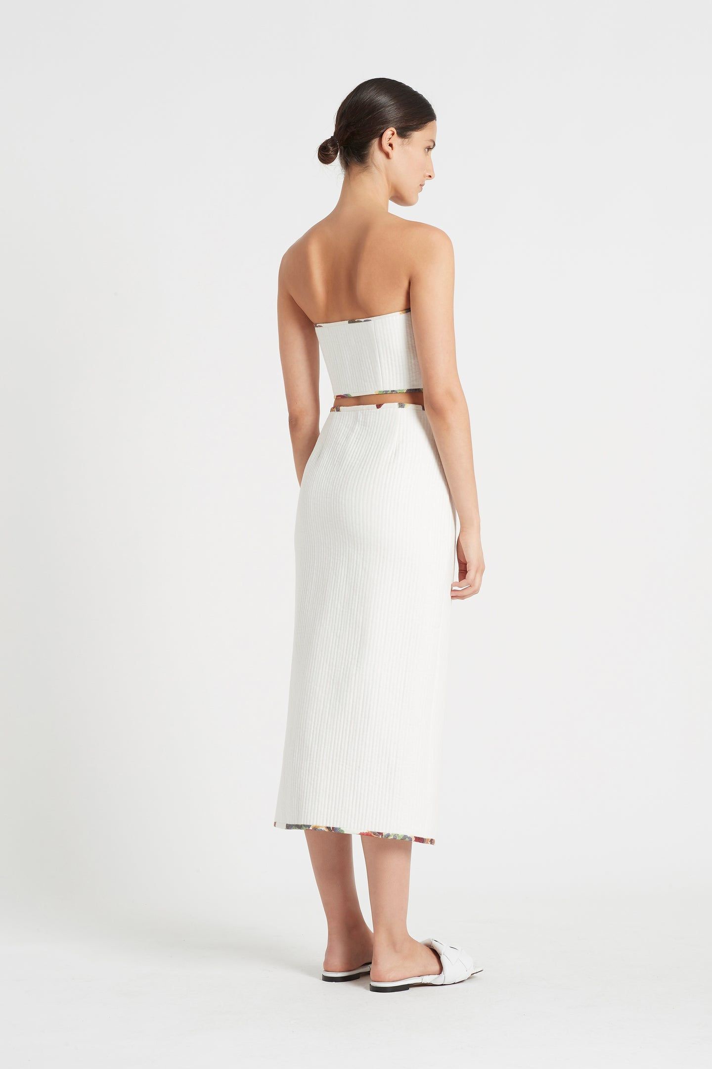 SIR the label SIGRID BUSTIER IVORY