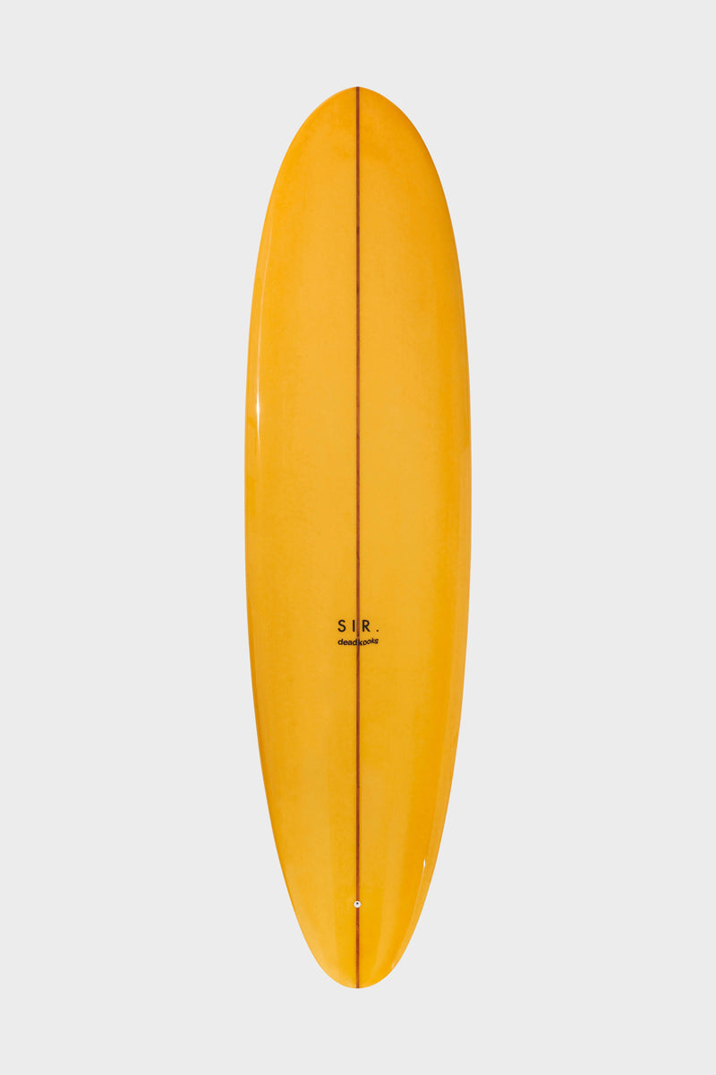 SIR the label YELLOW ANAIS SURFBOARD YELLOW ANAIS PRINT
