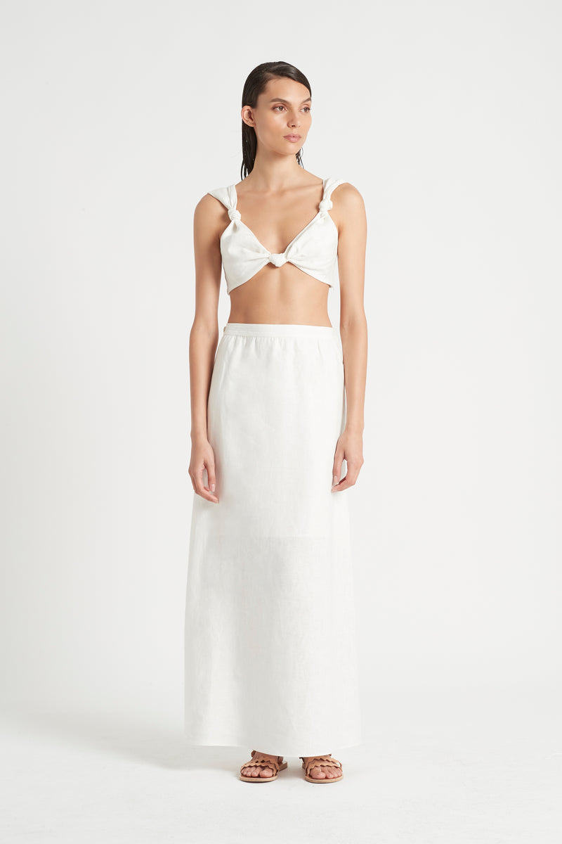 SIR the label AMBROISE KNOT BRALETTE IVORY
