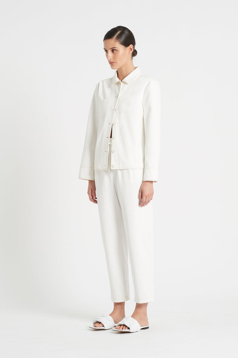 SIR the label MAURICE JACKET IVORY