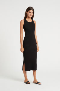 MARCELLE OPEN BACK MIDI DRESS