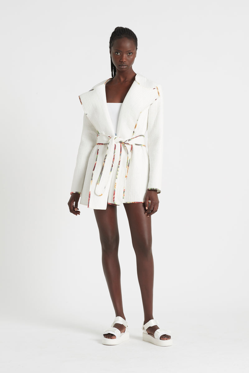 SIR the label SIGRID JACKET IVORY