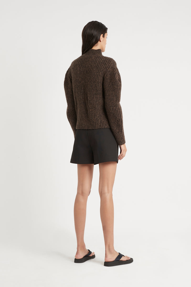 MATTI TUCK SLEEVE SWEATER