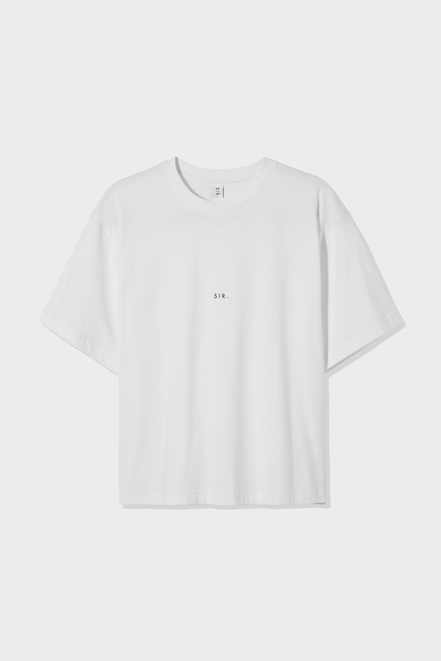 SIR the label WOMENS OVERSIZED TEE WHITE