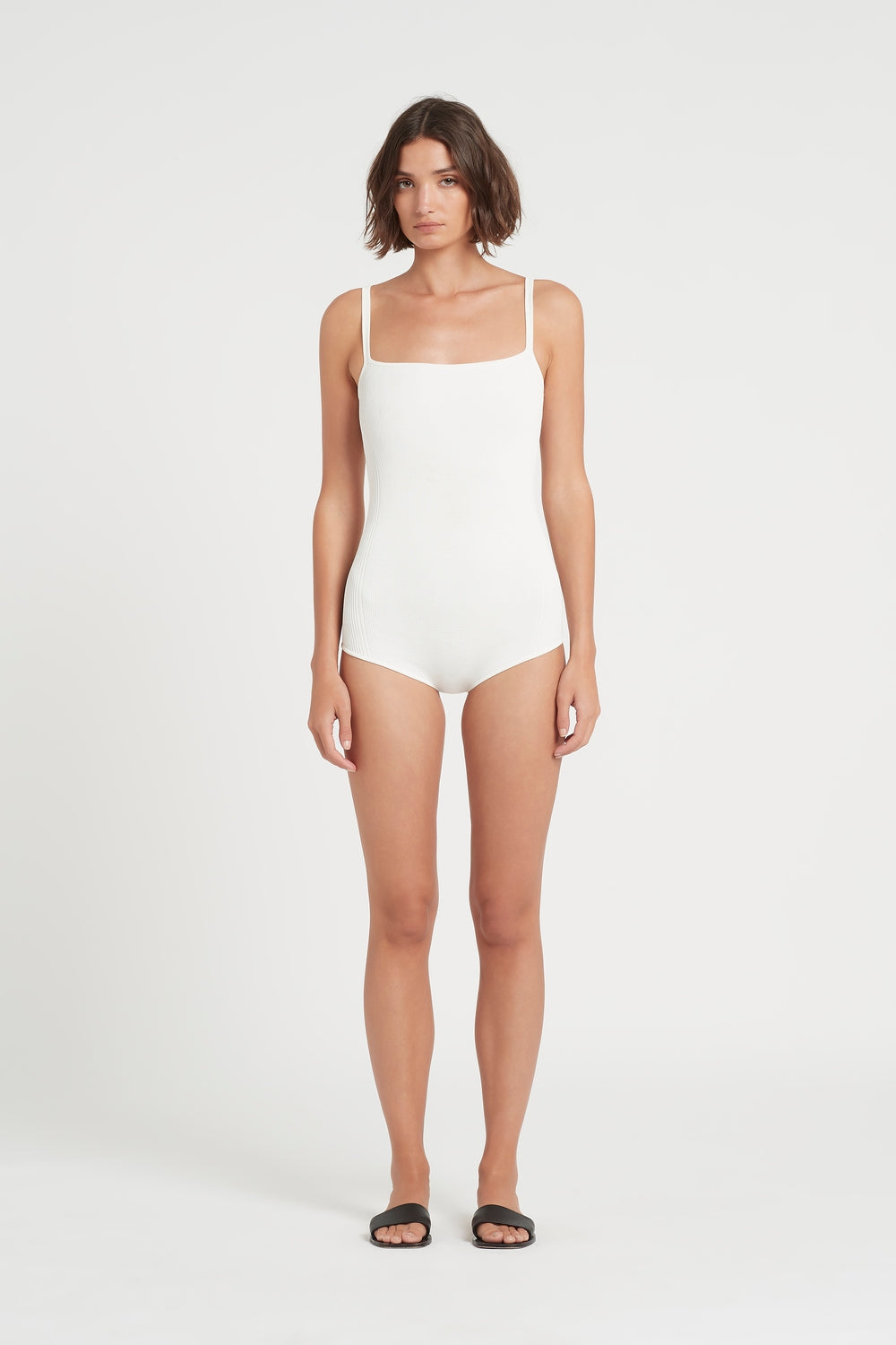 SIR the label CECELIA ROMPER IVORY