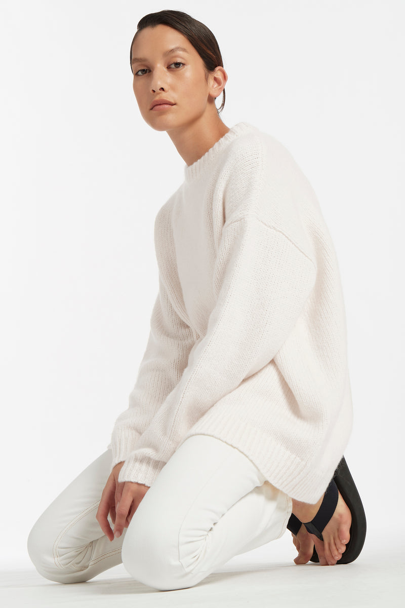 SEVILLE CREW NECK SWEATER
