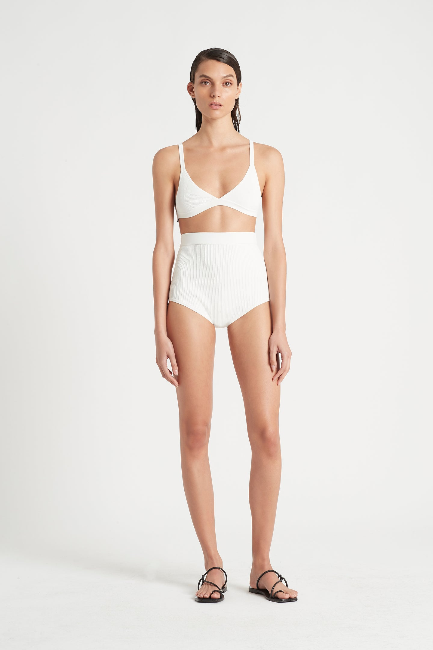 SIR the label AGNES BRIEF IVORY
