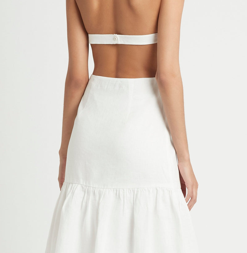 BLANCHE HALTER  DRESS