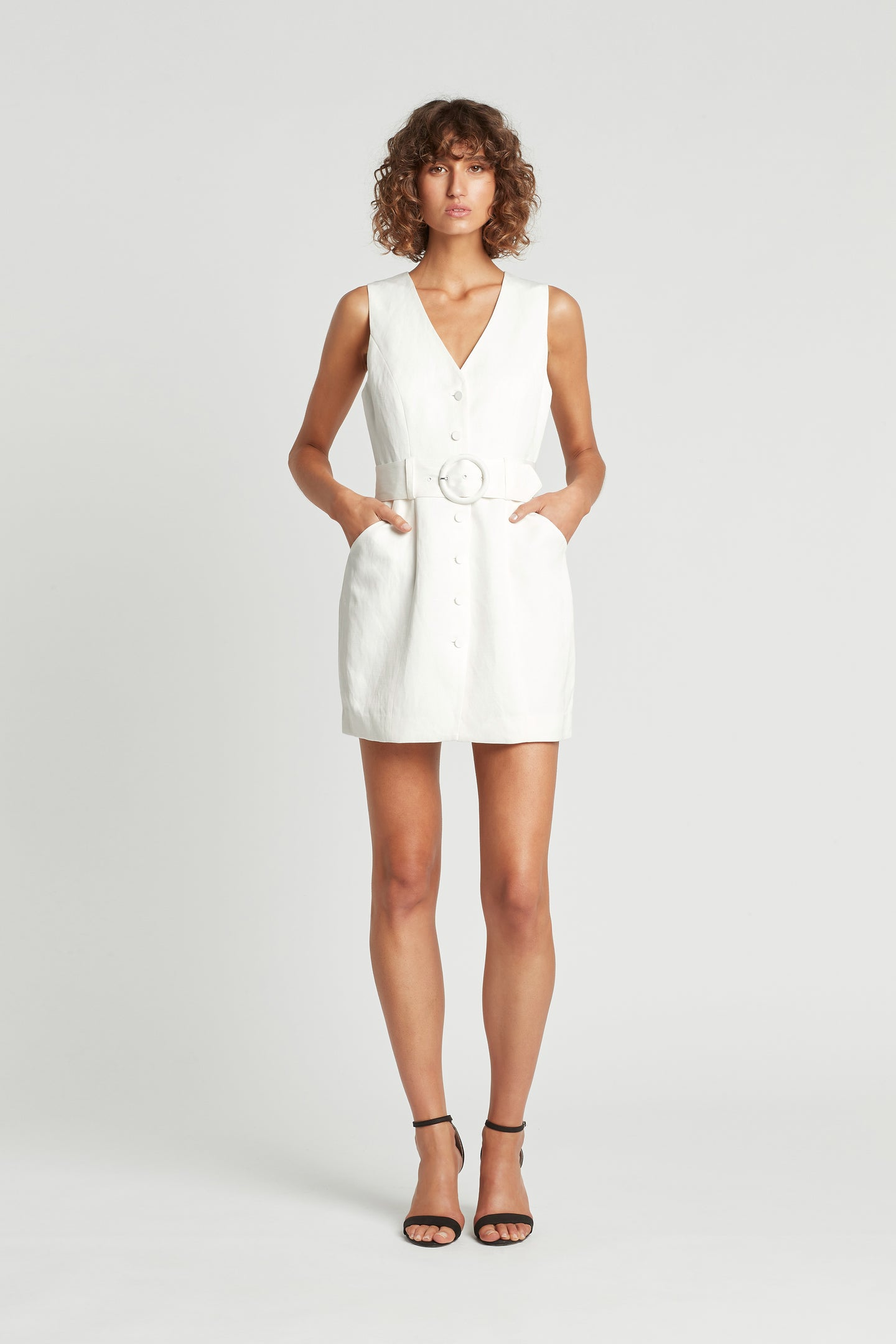 SIR the label LANEY DRESS IVORY