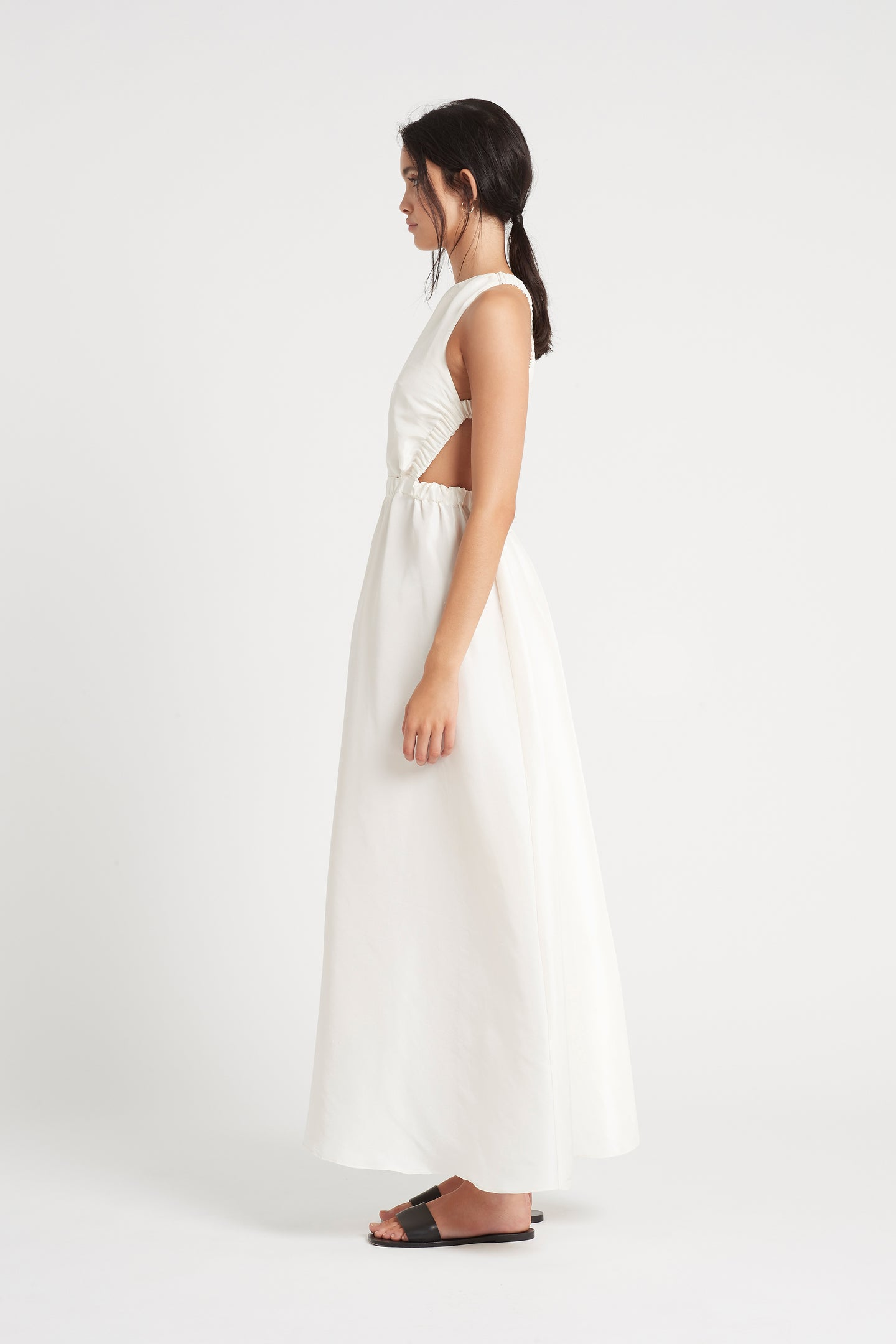 SIR the label VALETTA MAXI DRESS WHITE