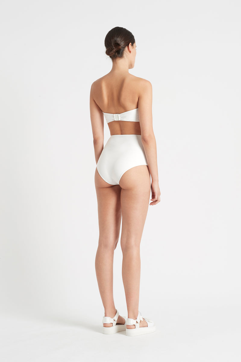 SIR the label LOUIS TIE BANDEAU IVORY
