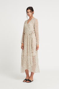 ISABELLA LONG SLEEVE WRAP DRESS