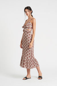 FLORÉ CUT OUT DRESS