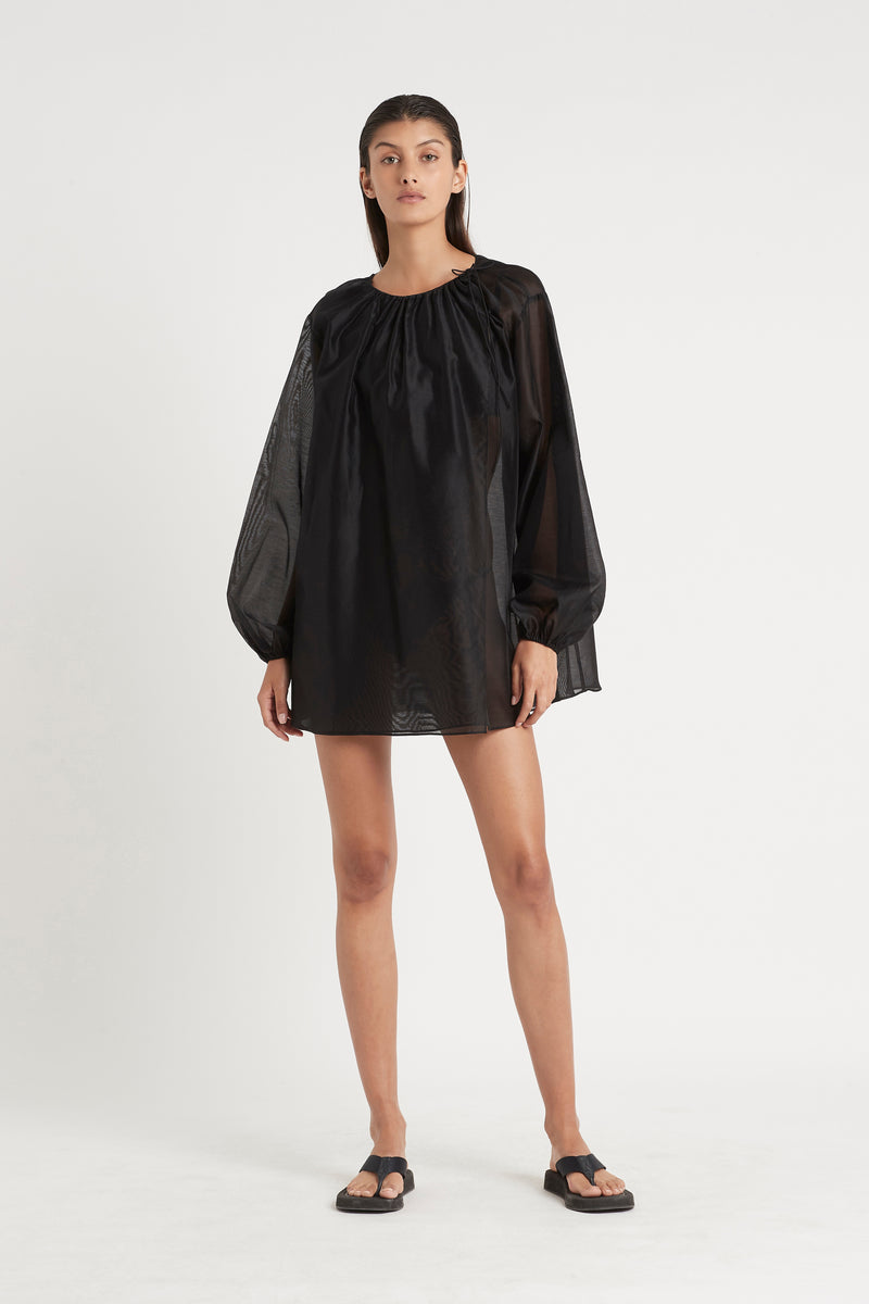 AMERIE LONG SLEEVE MINI DRESS