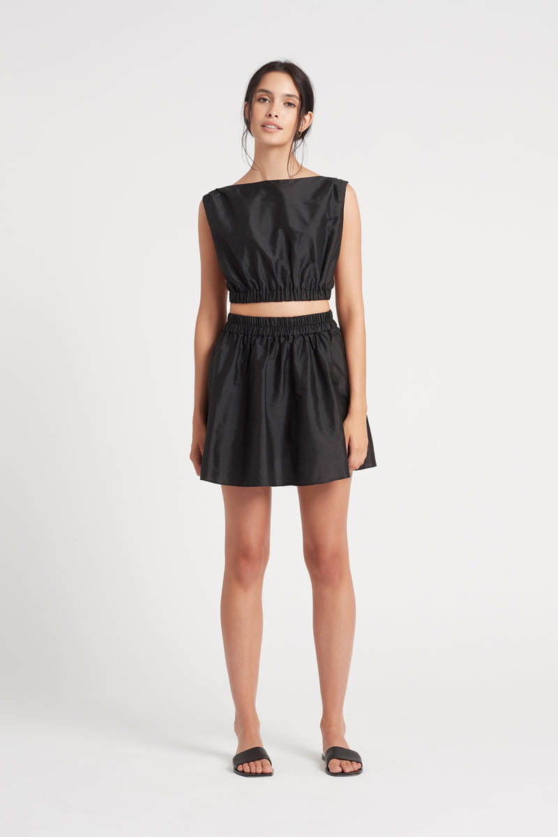 SIR the label VALETTA MINI SKIRT BLACK