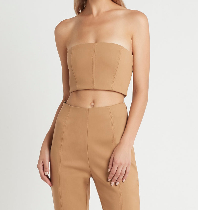 SIR the label ANDRE BUSTIER CAMEL