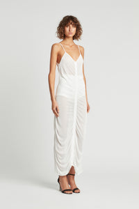CATA DRAPE DRESS