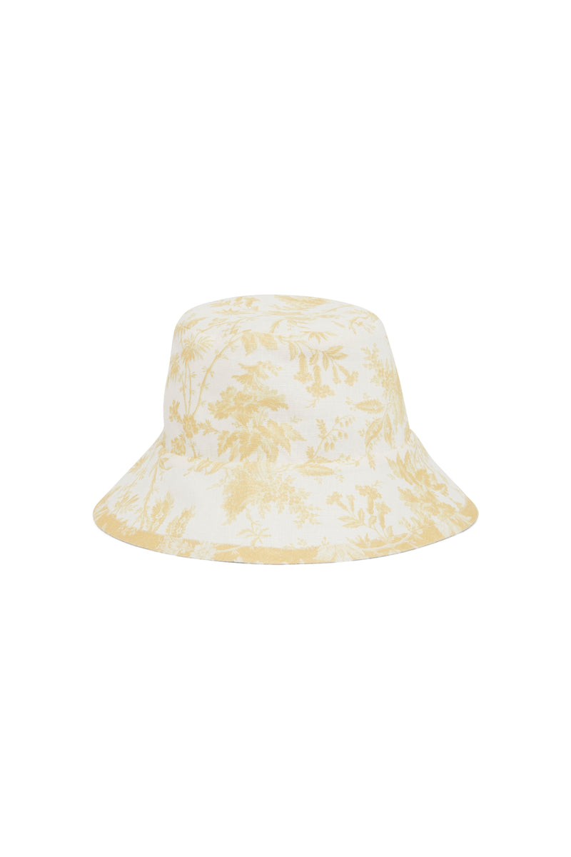SIR the label CLEMENTINE BUCKET HAT IVORY CLEMENTINE PRINT