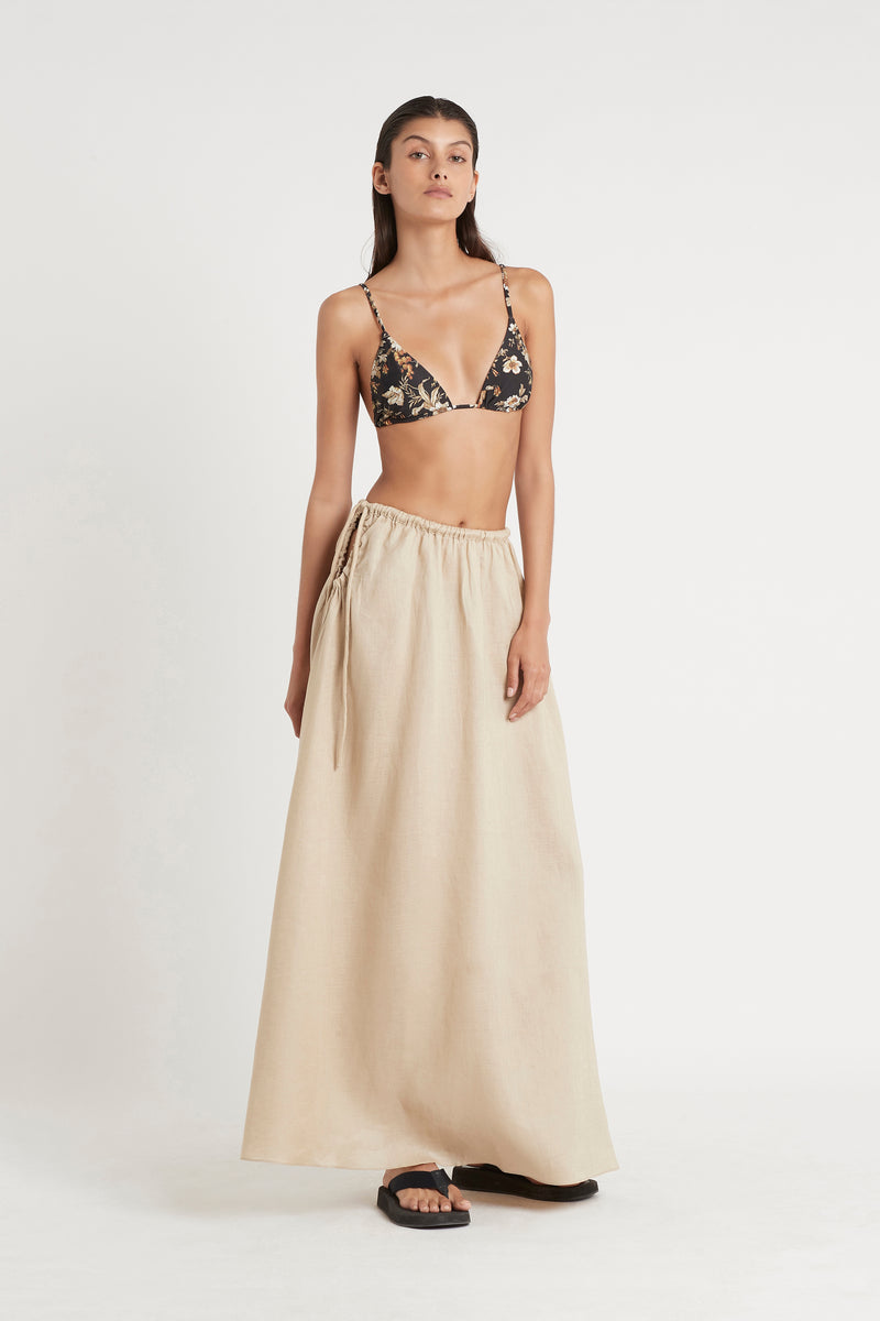 SIR the label BLANCHE TIE MAXI SKIRT BONE