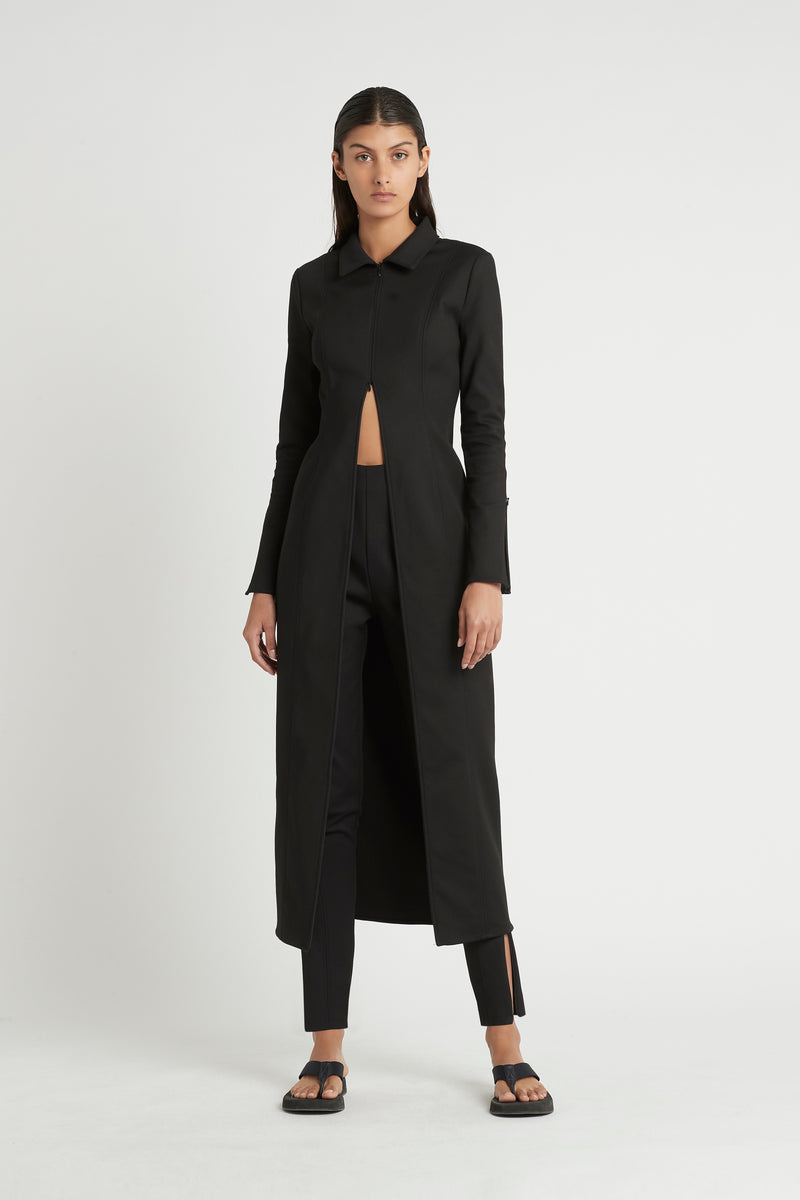 SIR the label ANDRE ZIP PANT BLACK