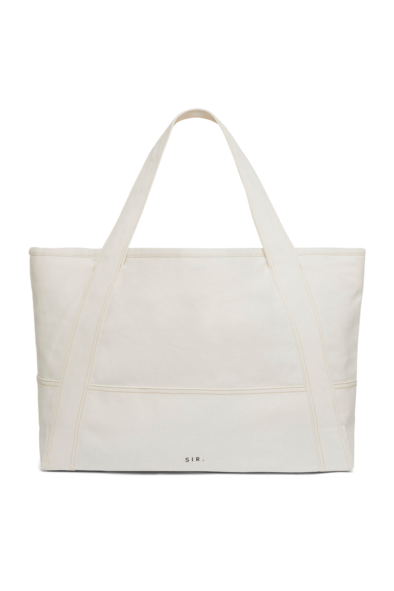 SIR the label MAURICE TOTE BAG IVORY
