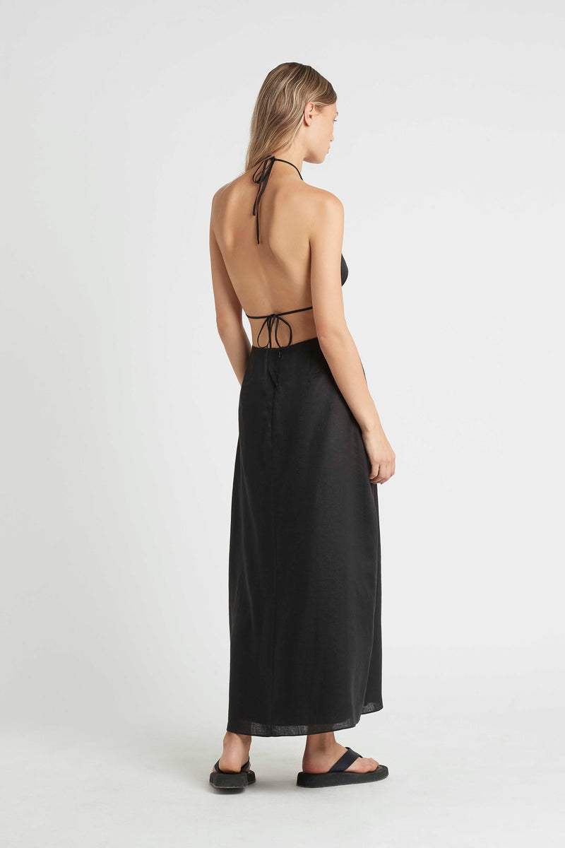 BLANCHE TIE BACK DRESS