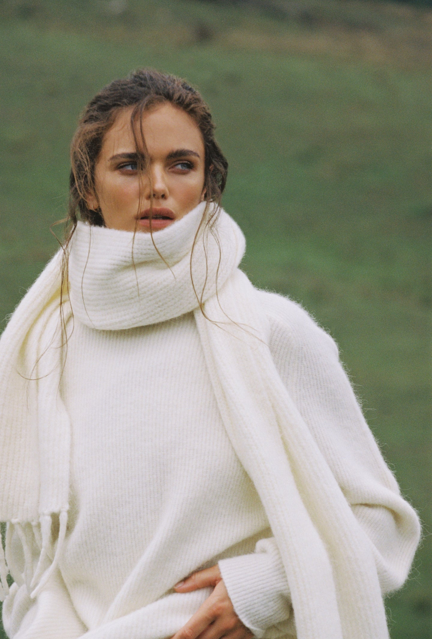 SIR the label FRANCA OVERSIZED SWEATER IVORY